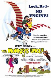 Monkey's Uncle - 11 x 17 Movie Poster - Style A