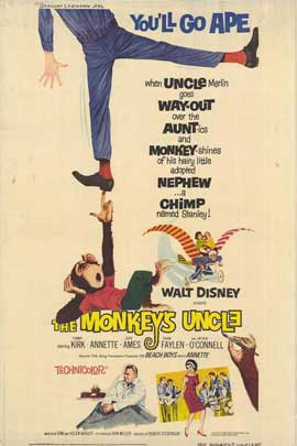 Monkey's Uncle - 11 x 17 Movie Poster - Style B