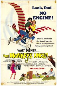 Monkey's Uncle - 27 x 40 Movie Poster - Style A