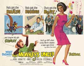 Monkey's Uncle - 22 x 28 Movie Poster - Half Sheet Style A
