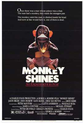 Monkey Shines - 11 x 17 Movie Poster - Style A