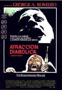Monkey Shines - 27 x 40 Movie Poster - Spanish Style A