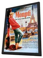 Monpti - 27 x 40 Movie Poster - German Style A - in Deluxe Wood Frame