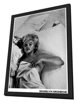Marilyn Monroe - 11 x 17 Movie Poster - Style E - in Deluxe Wood Frame