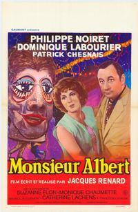 Monsieur Albert - 27 x 40 Movie Poster - Belgian Style A