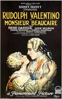 Monsieur Beaucaire - 27 x 40 Movie Poster - Style B