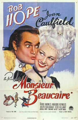 Monsieur Beaucaire - 11 x 17 Movie Poster - Style A