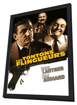 Monsieur Gangster - 27 x 40 Movie Poster - Style A - in Deluxe Wood Frame
