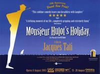 Monsieur Hulot's Holiday - 11 x 17 Movie Poster - Style A