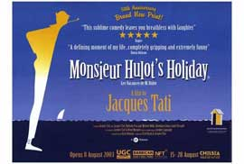Monsieur Hulot's Holiday - 27 x 40 Movie Poster - Style A