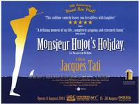 Monsieur Hulot's Holiday - 43 x 62 Movie Poster - Bus Shelter Style A