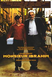 Monsieur Ibrahim - 43 x 62 Movie Poster - Bus Shelter Style A