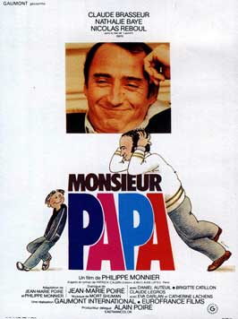 Monsieur Papa - 11 x 17 Movie Poster - French Style A
