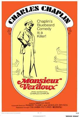 Monsieur Verdoux - 27 x 40 Movie Poster - Style A