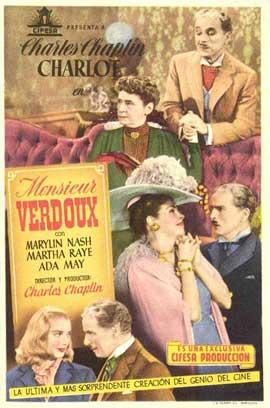 Monsieur Verdoux - 11 x 17 Movie Poster - Spanish Style A