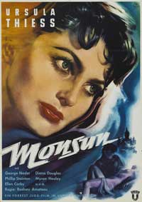 Monsoon - 11 x 17 Movie Poster - German Style A