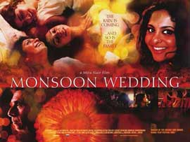 Monsoon Wedding - 11 x 17 Movie Poster - Style B