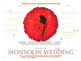 Monsoon Wedding - 11 x 17 Movie Poster - Style C