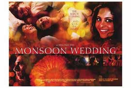 Monsoon Wedding - 27 x 40 Movie Poster - Style B