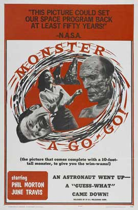 Monster A Go-Go - 11 x 17 Movie Poster - Style A