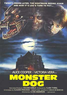 Monster Dog - 11 x 17 Movie Poster - Spanish Style A