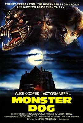 Monster Dog - 27 x 40 Movie Poster - Spanish Style A