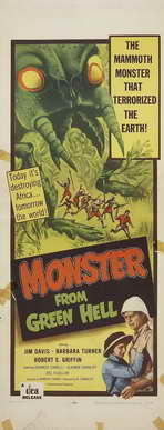 Monster from Green Hell - 14 x 36 Movie Poster - Insert Style A
