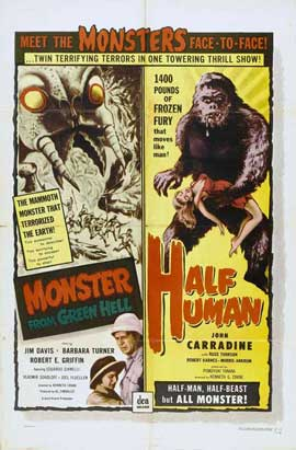 Monster from Green Hell - 11 x 17 Movie Poster - Style B