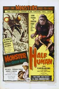 Monster from Green Hell - 27 x 40 Movie Poster - Style B