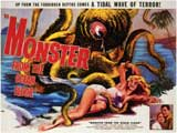 Monster From the Ocean Floor - 11 x 17 Movie Poster - Style B