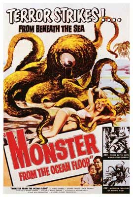 Monster From the Ocean Floor - 27 x 40 Movie Poster - Style A