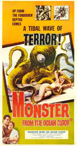 Monster From the Ocean Floor - 20 x 40 Movie Poster - Style A