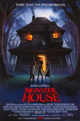 Monster House - 11 x 17 Movie Poster - Style A