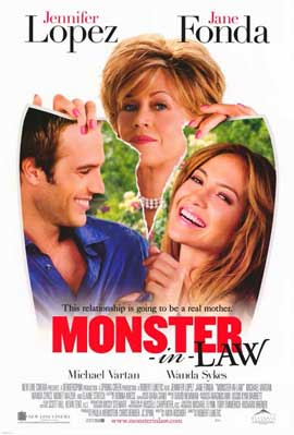 Monster-in-Law - 11 x 17 Movie Poster - Style B