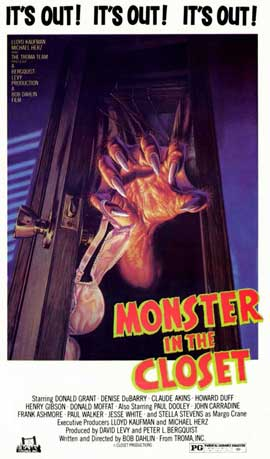 Monster in the Closet - 11 x 17 Movie Poster - Style A