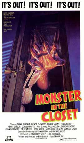 Monster in the Closet - 27 x 40 Movie Poster - Style A