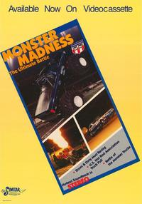 Monster Madness The Ultimate Battle - 27 x 40 Movie Poster - Style A