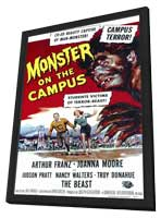 Monster on the Campus - 11 x 17 Movie Poster - Style A - in Deluxe Wood Frame