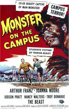 Monster on the Campus - 11 x 17 Movie Poster - Style A