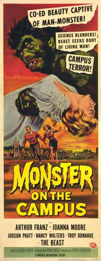 Monster on the Campus - 11 x 17 Movie Poster - Style B