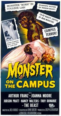 Monster on the Campus - 11 x 17 Movie Poster - Style C