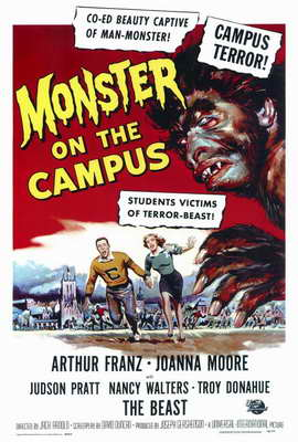 Monster on the Campus - 27 x 40 Movie Poster - Style A
