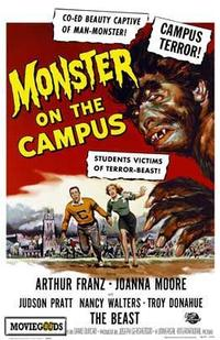 Monster on the Campus - 43 x 62 Movie Poster - Bus Shelter Style A