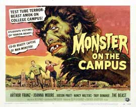 Monster on the Campus - 11 x 14 Movie Poster - Style A