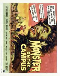 Monster on the Campus - 22 x 28 Movie Poster - Half Sheet Style A