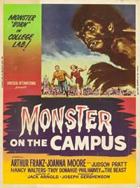 Monster on the Campus - 11 x 17 Movie Poster - Style D