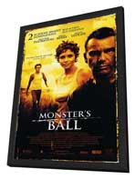 Monster's Ball - 27 x 40 Movie Poster - Style B - in Deluxe Wood Frame