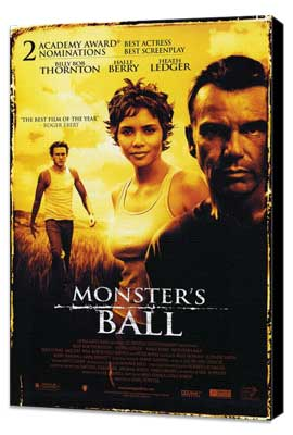 Monster's Ball - 27 x 40 Movie Poster - Style B - Museum Wrapped Canvas