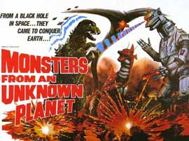 Monsters from an Unknown Planet - 11 x 14 Movie Poster - Style A