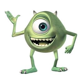 Monsters, Inc. - Monsters Inc. Mike Wazowski Giant Peel and Stick Wall Decal